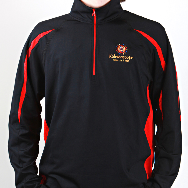 Men's Pullover – Black & Red