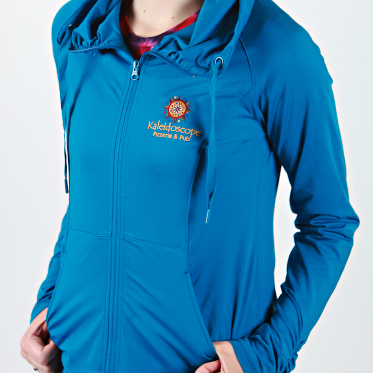 Women's Zip Up – Blue