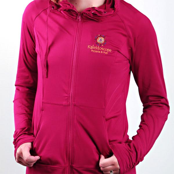 Women's Zip Up – Fuchsia