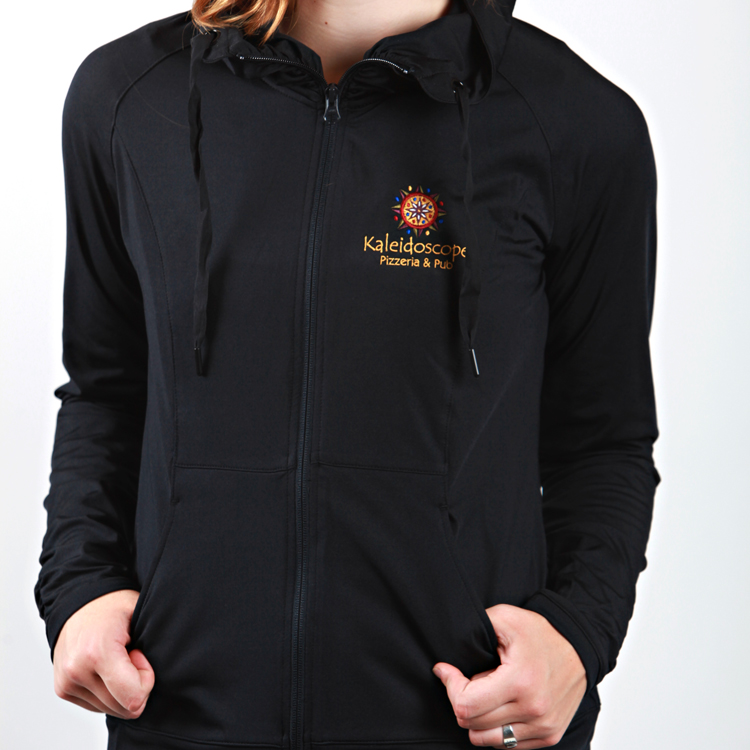 Women's Zip Up – Black